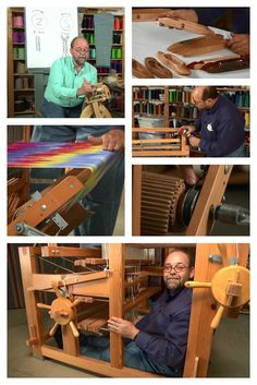 Tom Knisely is a human ray of sunshine--with an impressive depth and breadth of weaving knowledge! Learn more about some of his classic weaving resources here!