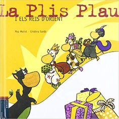 """Pep Molist / Cristina Sardà. """"La Plis Plau i els Reis d'Orient"""". Editorial Baula Editorial, Comic Books, Comics, Cover, Libros, Xmas, Cartoons, Cartoons, Comic"""