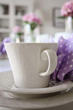 Sommarbacka - Pentik Valo. Sweet Little Things, My Photos, Table Settings, Tea, Mugs, Tableware, Cottage, Inspiration, Coffee