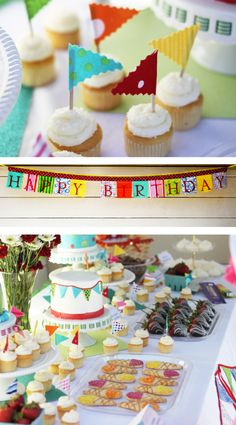 Summer Themed Birthday Party