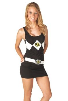 Power Rangers dress!  If I had the body, I would totally be buying this!