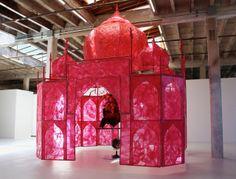 "Oh my! 13' x 13' x 18' - a whole room! 1stdibs.com | Rina Banerjee - ""Take me, take me, take me...to the Palace of Love"""