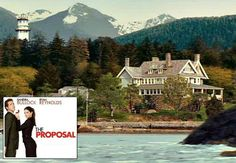 Filming location for the Sandra Bullock movie The Proposal and the real house they used (hint: it's not really in Alaska!) | hookedonhouses.net