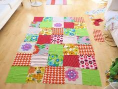 Jane Foster Blog: New vintage and retro fabric Jane Foster quilts