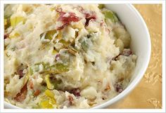 Colcannon with Leaks and Bacon Irish comfort food