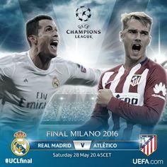 Champions League 2015-2016 Real Madrid vs Atletico