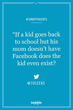 Happy back-to-school season parents! Enjoy the peace and more of these hilarious parenting tweets.