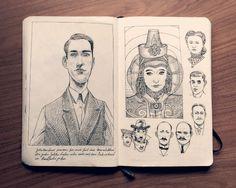 dibujos Jared Muralt