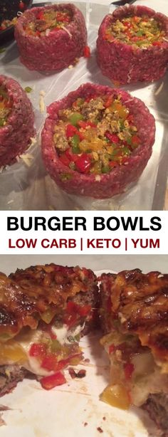 Low Carb and Keto Friendly - Low Carb -Burger Bowls! Low Carb and Keto Friendly - Low Carb -Bowls! Low Carb and Keto Friendly - Low Carb -Burger Bowls! Low Carb and Keto Friendly - Low Carb - Ketogenic Recipes, Low Carb Recipes, Diet Recipes, Cooking Recipes, Healthy Recipes, Vegetarian Recipes, Recipies, Crab Recipes, Cooking Bacon