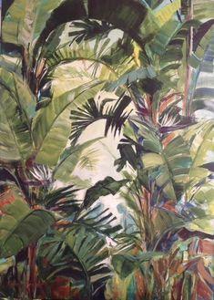 'Ceylon Tea' |  Acrylic on Canvas | 70 x 50cm