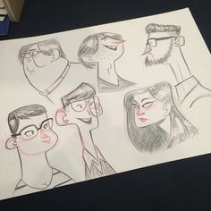 #ctnx14 people who walked by. #sketch #doodle #characterdesign | Use Instagram online! Websta is the Best Instagram Web Viewer!