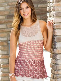 Knitting - Patterns for Wearables - Patterns for Tops - Cates
