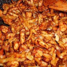 Egy finom Mézes-mustáros csirkefalatok burgonyával ebédre vagy vacsorára? Mézes-mustáros csirkefalatok burgonyával Receptek a Mindmegette.hu Recept gyűjteményében!