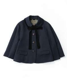 ウーステッドギャバジンのケープジャケット - Jane Marple Online Shop