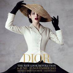 A exposiço Dior A Revoluço do New Look Revelou a Importância da Moda em Momentos Difceis  Retrospectiva  Fragmentos de Moda