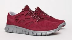 Nike - Free Run +2 - Bordeaux