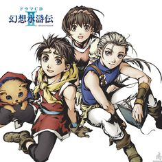 Suikoden 2 - RPG game for PS1
