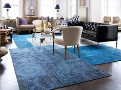 AphroChic: 12 Fantastic Choices for Rugs and Flooring