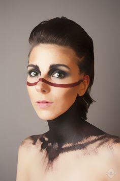 """""""War Paint"""" Part 2  Self Portrait by Mandy Mennen Photography"""