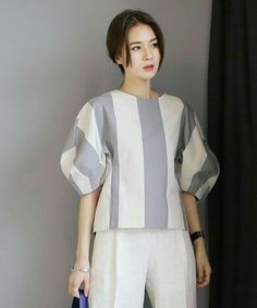 Practical Fashion Tips To Look Good Every Day. In today's world you must always look your best. Hijab Fashion, Girl Fashion, Fashion Dresses, Womens Fashion, Casual Work Outfits, Work Casual, Blouse Styles, Blouse Designs, Cos Dresses