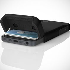 Stashback iPhone 5 Case by Incipio. I have waited so long to find you... genius