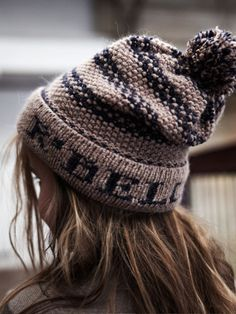 Slouchy hat please  Wool and the gang