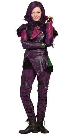 descendants disney mal disney descendants mal cosplay costume version 01