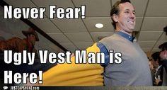 #TooFunnyForWords click the pic for more! Santorum meme, funny