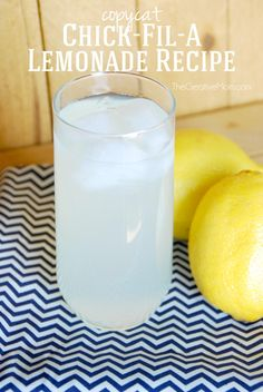 Copycat Chick-Fil-A Lemonade Recipe - The Creative MomThe Creative Mom