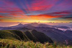 // Awesome Taiwan Sunset //