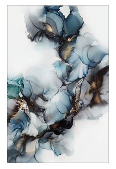 Alcohol Ink Crafts, Alcohol Ink Painting, Alcohol Ink Art, Acrylic Pouring Techniques, Paint Color Schemes, Watercolor Background, Art Techniques, Canvas Artwork, Painting Inspiration