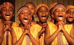 African Children's Choir In Concert Hales Corners, Wisconsin Singing Quotes, Singing Tips, Keep Your Chin Up, Best Flights, African Children, Piece Of Music, Sounds Great, Loungewear Set, Kids Events