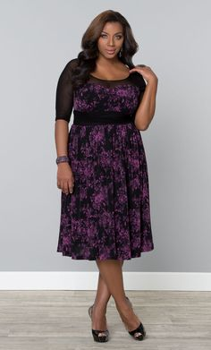 Grab everyone's attention at your next special occasion in a Kiyonna cocktail dress! Shop www.kiyonna.com  #Kiyonna #Plussize #lacedress
