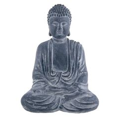 "6"" Sitting Buddha Décor Accent By Ashland® 