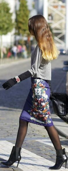 Ootd: Zara Look by From Brussels With Love  Bridge, what a fun look that the gloves make