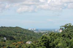 La Vista Del Mar Desde El Barrio Caimito San Juan, Puerto Rico