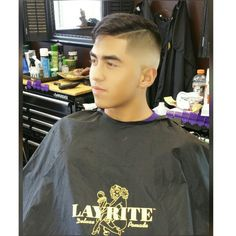 Comb Over laid to the side with Laurie Cement