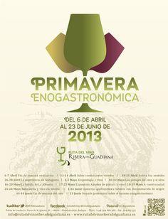 La Primavera Enogastronómica  de la Ruta del Vino de Ribera del Guadiana