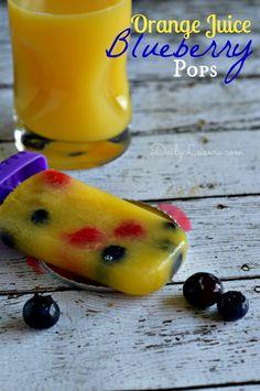 Orange Juice & Blueb