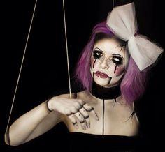 broken marionette optical illusion!