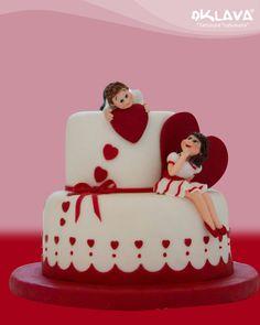 Sevgili ve Aşk Pastası