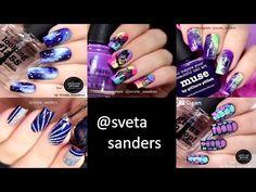 Nail Art Tutorial Compilation 2016 | Best of @sveta sanders - YouTube