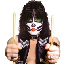 Eric the faker. Kiss Concert, Mick Mars, Kiss Images, Eric Carr, Peter Criss, Best Rock Bands, Paul Stanley, Best Kisses, Kiss Band