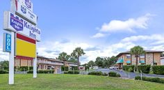 Knights Inn Kissimmee West Kissimmee Located in Kissimmee, Florida, this motel features an outdoor swimming pool and free on-site parking. Free Wi-Fi is available throughout the property.  A refrigerator is available in each room at Knights Inn Kissimmee West.