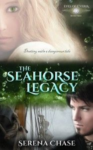 """THE OVERWEIGHT BOOKSHELF -- from Lydia's review of The Seahorse Legacy by Serena Chase: """"I am unceasingly awed at Serena's brilliance and mastery in creating new realms with unique inhabitants, idiosyncratic elements and elaborate societies that invigorate readers' imaginations."""""""