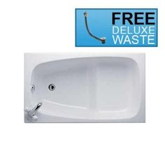 Buy Ideal Standard 1200mm x 700mm Space Bath White Today from BathroomTrade.co.uk online Bathroom Store. Sale Now On - Call Free 0800 043 0207