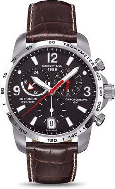 Certina Watch DS Podium Big Size Chrono GMT Quartz #bezel-fixed #bracelet-strap-leather #brand-certina #case-material-steel #case-width-42mm #chronograph-yes #date-yes #delivery-timescale-7-10-days #dial-colour-black #gender-mens #gmt-yes #luxury #movement-quartz-battery #official-stockist-for-certina-watches #packaging-certina-watch-packaging #style-sports #subcat-certina-gmt #subcat-ds-podium #supplier-model-no-c001-639-16-057-00 #warranty-certina-official-2-year-guarantee…