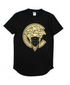Crooks&Castles S/S Scallop Top Medusa