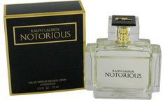 Notorious Perfume 2.5 oz Eau De Parfum Spray By Ralph Lauren for Men