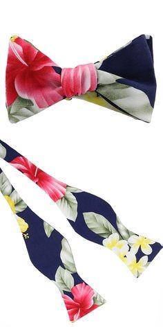 Lord Wallington Hawaiian Bow Tie